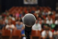 get over the fear of public speaking