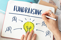 fundraising for organizations, charities, and causes